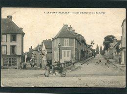 CPA - TILLY SUR SEULLES - Rues Enfer Et De Balleroy, Animé - France