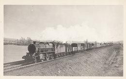 LMS Railway Stanier 2-6-0 Class No 42952 In  Burton 1956 Train Photo - Trains