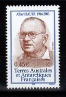TAAF - YV 405 N** Albert Bauer - Terres Australes Et Antarctiques Françaises (TAAF)