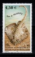TAAF - YV 413 N** Poisson Raie De Murray - Terres Australes Et Antarctiques Françaises (TAAF)