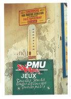 Cpm Pub Kodacolor, Thermomètre Ricard Anisette, PMU, Jeux - Reclame