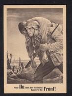 Tag Der NSDAP Soldat Mit Gefallenem / SSt Krakau Generalgouvernement - War 1939-45