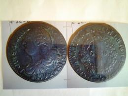 Louis Xvi  6 Deniers Tête à Gauche Rv / 6  Denier Dans Une Couronne - 1789-1795 Monnaies Constitutionnelles