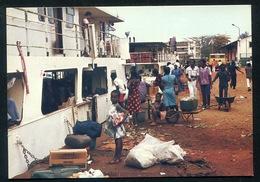 Gabon -  Port Gentil - Scène De Départ à La CNI. Animed PPC - Gabon
