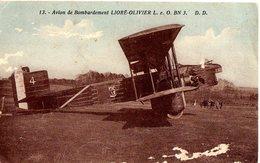 AVION DE BOMBARDEMENT LIORE OLIVIER L.E.O.BN.3 - 1914-1918: 1ra Guerra