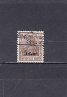 Belgique Occupation Allemande Oblitéré 1916-17  N° 26  Timbres Allemands De 1905-16 Surchargés - WW I