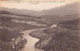 Ain        398        Environs De Belley.Le Défilé Du Rhône , La Dent Du Chat Et Le Revard - Belley