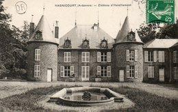 CPA - HAGNICOURT (08) - Aspect Du Château D'Harzillemont En 1910 - France