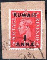 KUWAIT, PROTETTORATO INGLESE, RE GIORGIO VI, GRAN BRETAGNA, GREAT BRITAIN, 1948, FRANCOBOLLI USATI Michel 65    Scott 73 - Kuwait