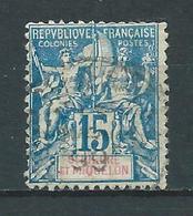 SAINT PIERRE ET MIQUELON 1892 .  N° 64 . Oblitéré . - Used Stamps