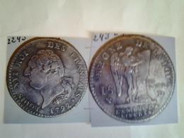 15 Sols Louis  Xvi Tête à Gauche  Rv / Règne De La Loi L 'an 4 De La Liberté - 1789-1795 Monnaies Constitutionnelles
