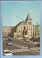 Pantin (93) L'église 2 Scans Voitures Fourgon Bus Carte Animée Lyna - Pantin