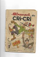 Almanach Cricri  1934 - Livres, BD, Revues