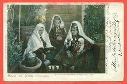 COSTANTINOPOLI - CONSTANTINOPLE -FOLKLORE - FOLK. - Turchia