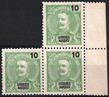 LOURENCO MARQUES, COLONIA PORTOGHESE, PORTUGUESE COLONY, 1899, RE CARLO I, NUOVO, SENZA GOMMA (MNG) Michel 34  Scott 32 - Lourenco Marques