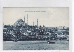 CONSTANTINOPLE. MOSQUEE SULIMANIE. EDIT DE LUXE, N AZIKRI. CIRCA 1910's.- BLEUP - Turkije