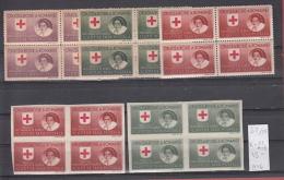 39K54 / 1946 - Michel  Nr. X-XI - PORTOFREIHEITSMARKEN , RED CROSS ,  ** MNH Romania Roumanie - 1918-1948 Ferdinand I., Charles II & Michel
