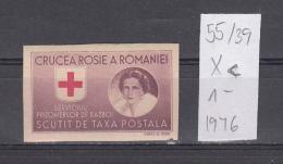 39K55 / 1946 - Michel  Nr. X-XI - PORTOFREIHEITSMARKEN , RED CROSS ,  ** MNH Romania Roumanie - 1918-1948 Ferdinand I., Charles II & Michel