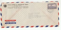 1950s UN In COSTA RICA To UN NY USA Airmail COVER  United Nations Aviation Stamps - Costa Rica
