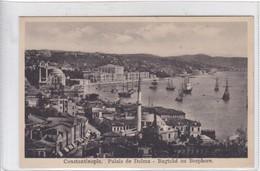 CONSTANTINOPLE. PALAIS DE DOLMA. BAGTCHE AU BOSPHORE. ED ISAAC M AHITOUV. CIRCA 1910's.- BLEUP - Turkije