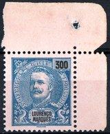 LOURENCO MARQUES, COLONIA PORTOGHESE, PORTUGUESE COLONY, 1898, RE CARLO I, NUOVO (MNG) Michel 44    Scott 49 - Lourenco Marques