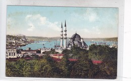 CONSTANTINOPLE. MOSQUEE JENI-DJAMI ET LE PORT. E F ROCHAT. ED D'ART DE L'ORIENT. CIRCA 1910's.- BLEUP - Turkije