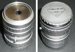 Rare Ancien Objectif Pour Caméra 8mm P. ANGENIEUX Paris, Zoom Type K2, F. 7,5-35mm - Photographie