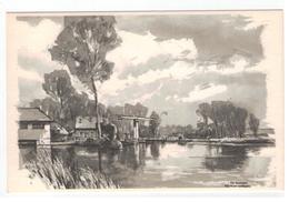 Verbaere Herman  De Dender 18x11,5cm - Andere Zeichner