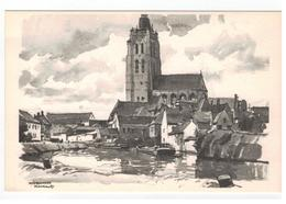 Oudenaarde  Panorama  Verbaere Herman   18x11,5cm - Oudenaarde