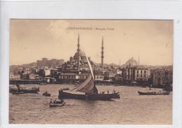 CONSTANTINOPLE. MOSQUEE VALIDE. N AZIKRI. EDIT DE LUXE. CIRCA 1910's.- BLEUP - Turkije