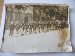 GROUPE De MILITAIRES : Photo  Et événement à Situer - War, Military