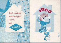 Paris: Calendrier VIGIER 1960 (PPP14195) - Calendars