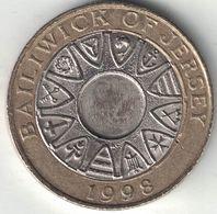 Jersey 2 Pounds 1998 - Jersey