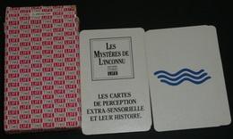 """Jeu De Cartes, """"Les Mystères De L'Inconnu"""", Mémoire, Memory, Boite Et Notice, Time Life, Perception Extra-Sensorielle - Jeux De Société"""