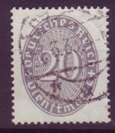 Dt. Reich Dienst D 126x Einzelmarke 20 Pf Gestempelt /2 - Service