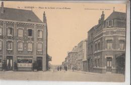 02   Hirson Place De La Gare Et Rue D Alsace - Hirson