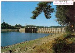 Cpm De Ducey - Barrage De Verzins - - Ducey