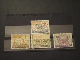 DUBAI - POSTA AEREA 1963 CROCE ROSSA 4 VALORI - NUOVI(++) - Dubai