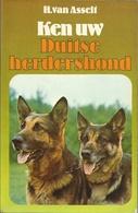 KEN UW DUITSE HERDERSHOND - H. VAN ASSELT - 1979 ELSEVIER - Sachbücher