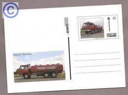 BRD - Pluskarte Individuell - Tankwagen Tatra 815, Fire Truck, Feuerwehr - Feuerwehr