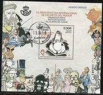 2018-ED. 5227 H.B. 25 Años Muestra Internacional De Las Artes Del Humor. Humor Gráfico -USADO - - 1931-Tegenwoordig: 2de Rep. - ...Juan Carlos I