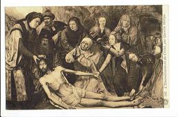 CPA - Carte Postale - BELGIQUE -Antwerpen - Musée - L'ensevelissement Du Christ- Détail Par Quentin Metsys   S1660 - Antwerpen