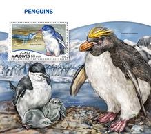 MALDIVES 2018 - Penguins S/S Official Issue - Pinguïns & Vetganzen