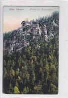 SACHS SCHWEIZ. BRAND MIT RESTAURATION. EMIL DEGENKOLB. VOYAGE. CIRCA 1922- BLEUP - Dresden