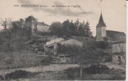 MONTFLEUR   Le Château Et L'Eglise - Francia