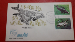 L'Argentine FDC Des Baleines - Wale