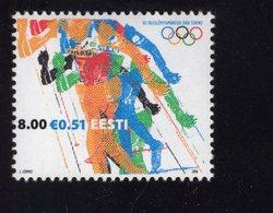 613836424 ESTLAND ESTONIA 2006 ** MNH  SCOTT  531 WINTER OLYMPICS TURIN - Estonie