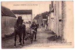 2204 - Villiers-Vineux ( 89 ) - La Vue D'en Haut - - Other Municipalities