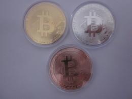 BITCOIN 3 Medaillen Konvolut - Fictifs & Spécimens