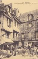 QUIMPER. - Vieilles Maisons De La Place Médard - Les Laitières. Belle Animation - Quimper